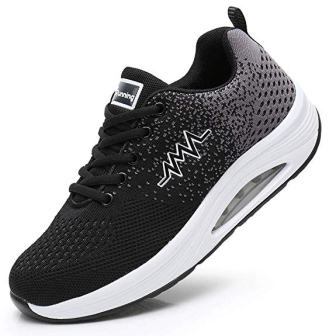 JARLIF Women's Comfortable Platform Walking Sneakers