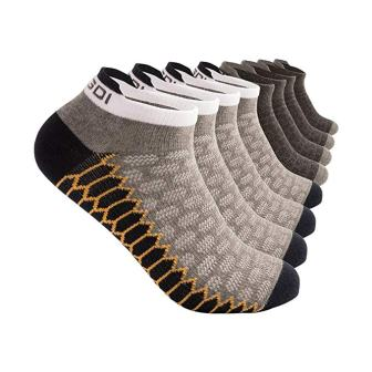 Low Cut, Antibacterial, No Show Compression-Fit, Athletic Running Socks for Men and Women from YingDi, Pack of 46 pairs