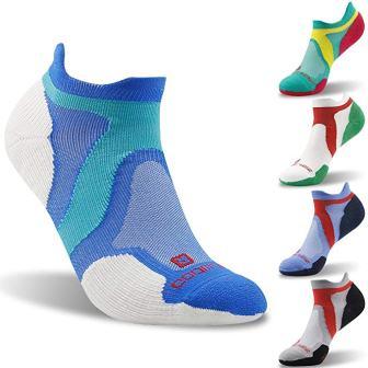 No Show Athletic Socks, Unisex Merino Wool Moisture Wicking Ultra-Light Running Socks from ZEALWOOD, 13 Pairs