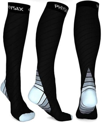 Physix Gear Compression Socks Men & Women (Top Pick)