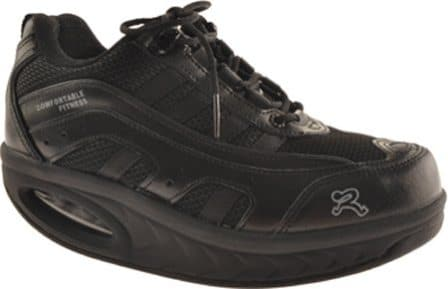 Ryn Sport Black Athletic Walking Shoes