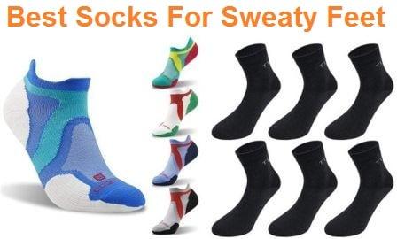 Top 15 Best Socks for Sweaty Feet in 2019