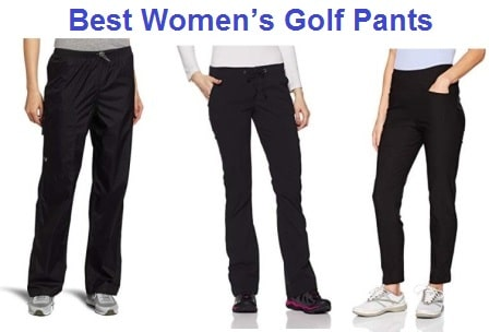Top 15 Best Women's Golf Pants in 2019
