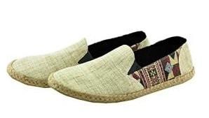 Virblatt Hemp Espadrille Men's Slippers