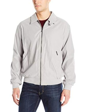 Weatherproof Men's Golf Jacket Gray