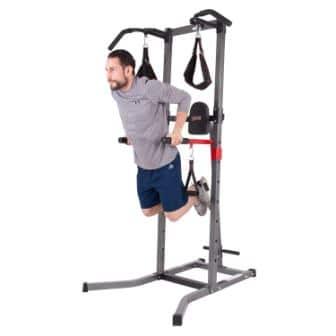 Body Champ VKR1010 Fitness Multi-Function Power Tower/Multi-Station