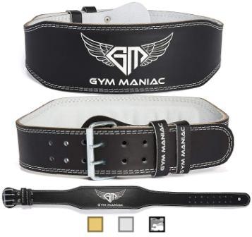 Gym Maniac GM Weight Lifting Waist Gym Belt