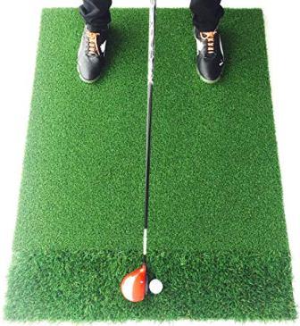 Motivo Golf StrikeDown Dual-Turf Pro Golf Hitting Mat