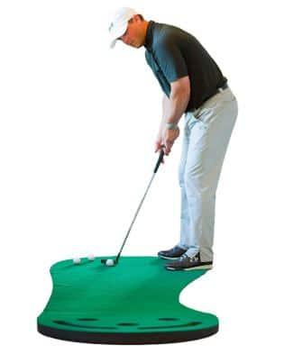 Shaun Webb's Golf Putting Green & Indoor Mat