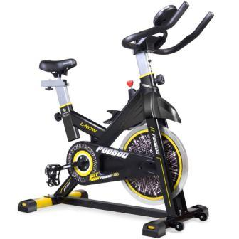 pooboo Indoor Cycling Bicycle, Belt Drive Indoor Exercise Bike