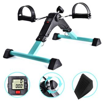 BAIJIAWEI Portable Pedal Exerciser – Under Desk Exercise Machine