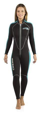 Cressi Lido Long Front Zipper 2mm Women's Jumpsuit