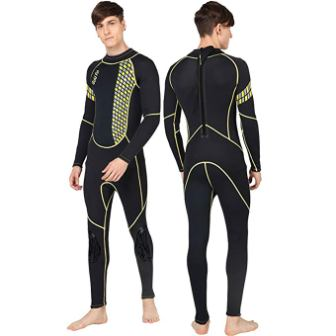 GoldFin Full Wetsuits 3mm Neoprene Wetsuit