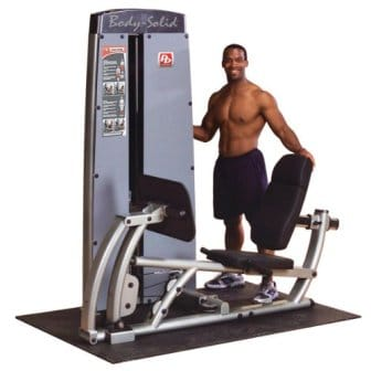 Pro Dual Leg and Calf Press Machine