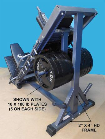 TDS 4-Way Full Lower Body Workout Unit
