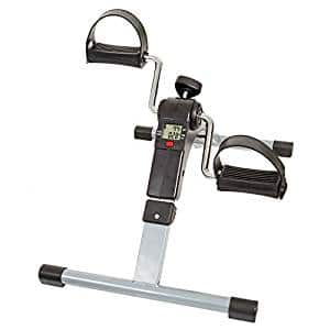 Wakeman Portable Fitness Pedal Stationary Under Desk Indoor Exercise
