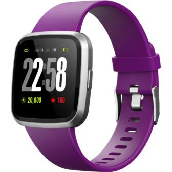 2019 version H4 Fitness Health 2in1 Smart Watch