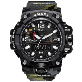 KXAITO men's sports outdoor waterproof military wrist watch