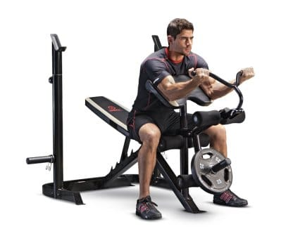 Marcy Adjustable Olympic Weight Bench MD879