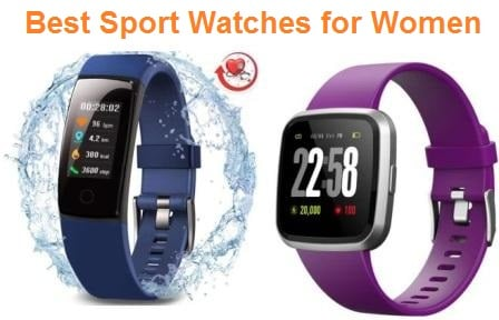 Top 15 Best Sport Watches for Women in 2019