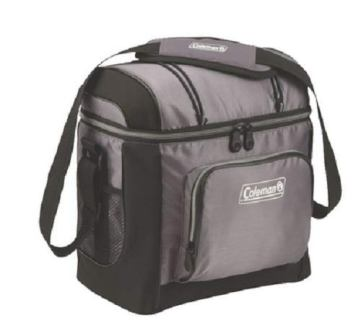 Coleman 3000001312 Cooler Soft 16 Can Gray W/ Liner