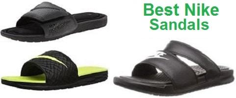 nike sandals waterproof