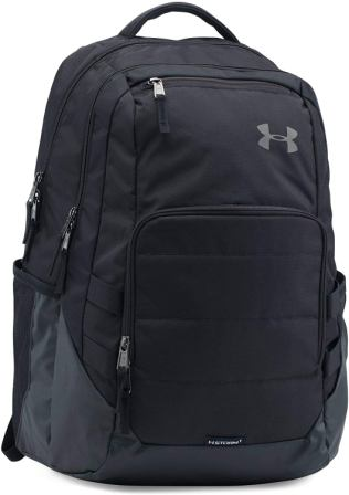 Under Armour Raid Storm 1 Black Backpack