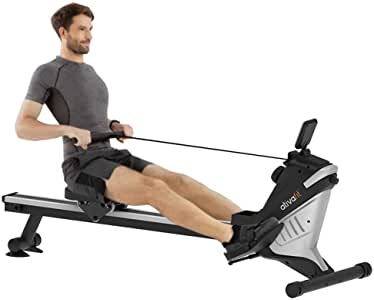 ATIVAFIT Magnetic Rower Rowing Machine