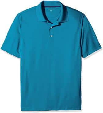 Amazon Essentials Men's Regular-Fit Golf Polo Shirt