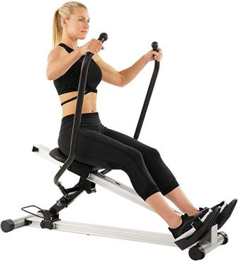 Sunny Health & Fitness SF-RW5720 Incline Full Motion Rowing Machine