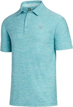 Three Sixty-Six Dry Fit Short-Sleeve Polo