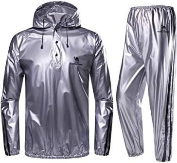 CAMEL CROWN Heavy Duty Sweat Sauna Suit for Men and Women