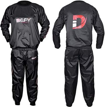 DEFY SPORTS™ Durable Heavy Duty Sweat Sauna Suit (Anti-Rip)