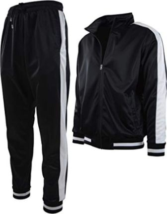 Choice Apparel Men's Athletic Two-piece Tracksuit